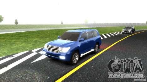 Toyota Land Cruiser 200 RESTALE for GTA 4 bottom view