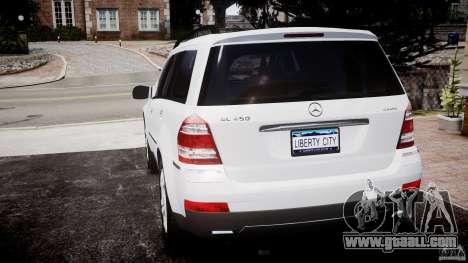 Mercedes-Benz GL450 for GTA 4 back left view