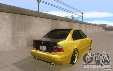 BMW M5 E39 - FnF4 for GTA San Andreas side view