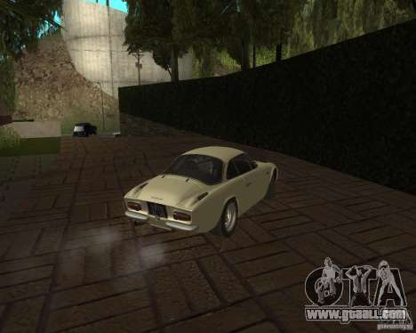 Renault Alpine 110 for GTA San Andreas right view