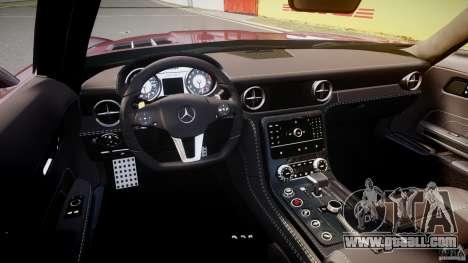 Mercedes-Benz SLS AMG 2010 [EPM] for GTA 4 back view
