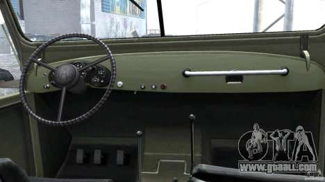 Gaz-69A, 1965 for GTA 4 right view