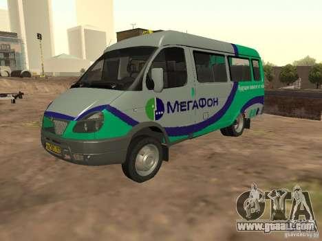Gazelle 32213 Megaphone for GTA San Andreas