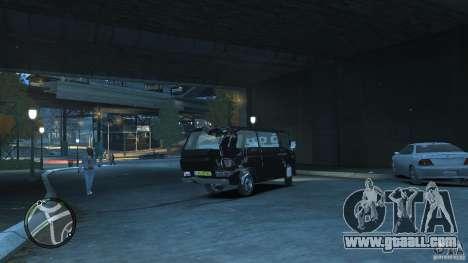 Volkswagen Transporter T3 for GTA 4 side view