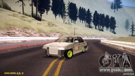 Vaz 21099 Hobo for GTA San Andreas