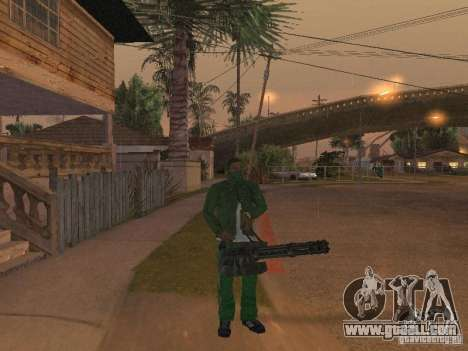 CLEO Weapons for GTA San Andreas