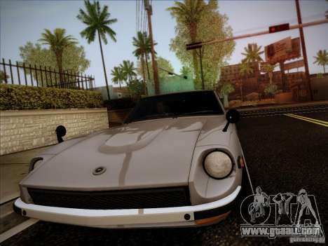 Nissan 280 Fairladyz 4.32 for GTA San Andreas back view