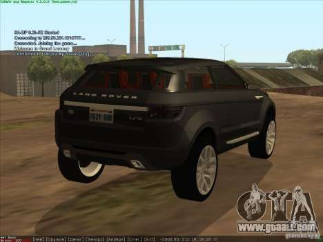Land Rover Freelander for GTA San Andreas left view