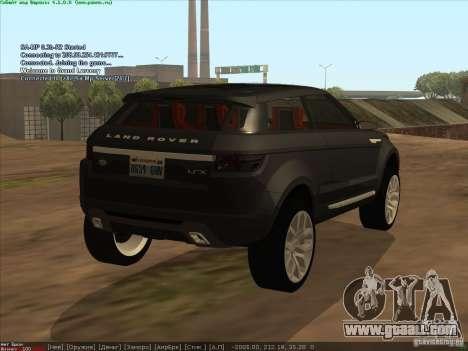 Land Rover Freelander for GTA San Andreas left view