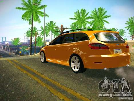 Ford Mondeo Sportbreak for GTA San Andreas back left view