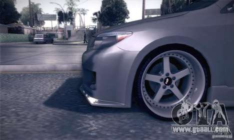 Scion Tc Street Tuning for GTA San Andreas side view