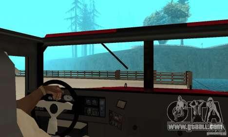 Hummer Civilian Vehicle 1986 for GTA San Andreas right view