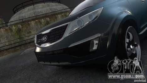 Kia Sportage 2010 v1.0 for GTA 4 back left view