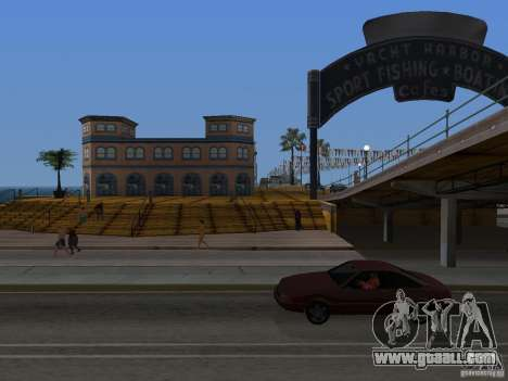 New Beach texture v2.0 for GTA San Andreas forth screenshot