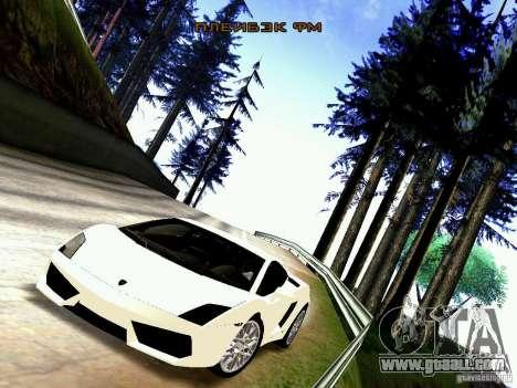 Lamborghini Gallardo LP560-4 for GTA San Andreas back left view