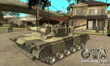 T-80U MBT for GTA San Andreas right view