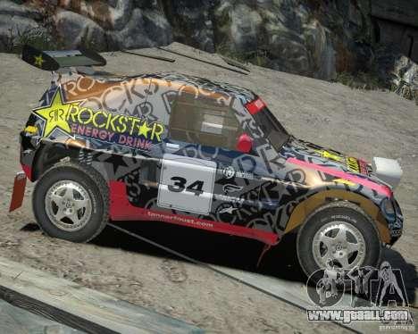 Mitsubishi Pajero Proto Dakar EK86 vinyl 1 for GTA 4 back view