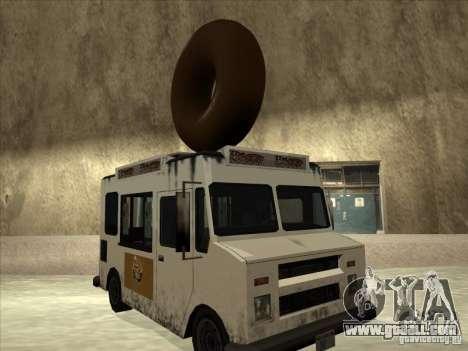 Donut Van for GTA San Andreas