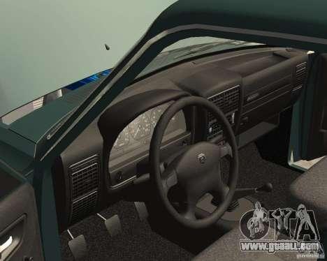 Volga GAZ 3110 for GTA San Andreas side view