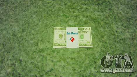 United States banknotes in denominations of $ 50 for GTA 4