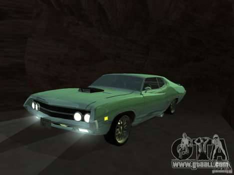 Ford Torino Cobra 1970 Tunable for GTA San Andreas side view