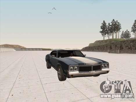 Sabre HD for GTA San Andreas