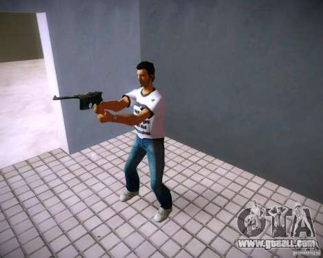 Mauser C96 for GTA Vice City