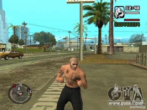 Blatnye tattoos for GTA San Andreas third screenshot