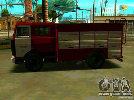 MAZ 533702 AC-2, 5-40 for GTA San Andreas left view