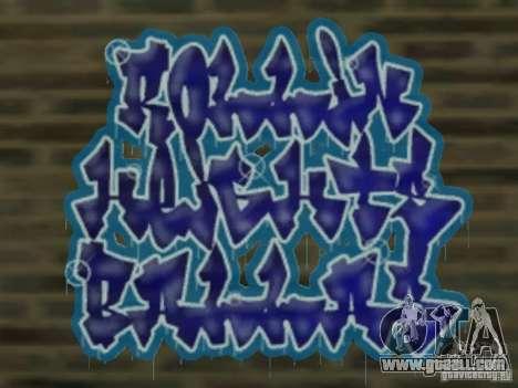 New LS gang tags for GTA San Andreas fifth screenshot