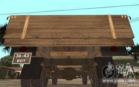 Gaz-52 for GTA San Andreas right view