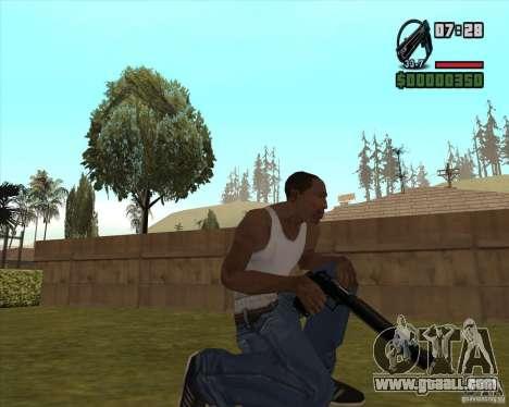 Black Chrome Eagle for GTA San Andreas third screenshot