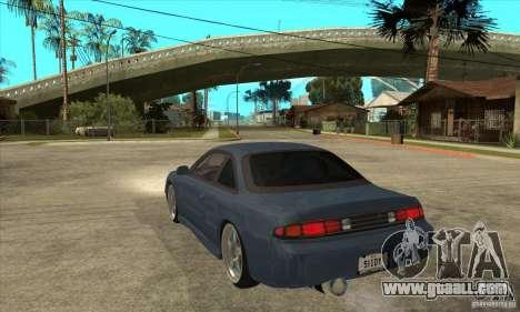 Nissan Silvia S14 Zenki for GTA San Andreas back left view