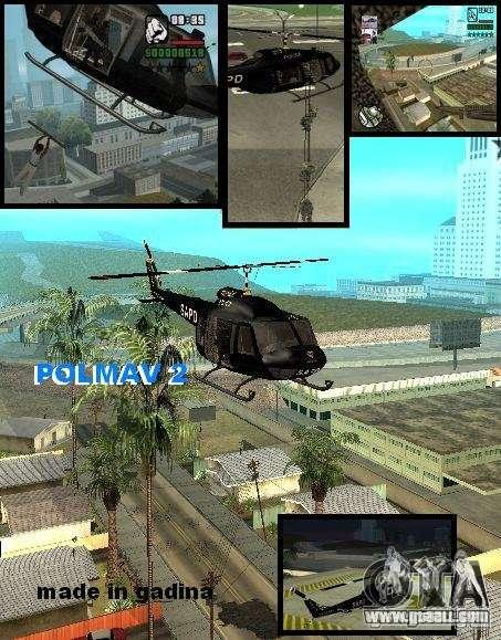 Police Maverick 2 for GTA San Andreas