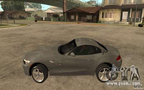 BMW Z4 sdrive35is 2011 for GTA San Andreas left view