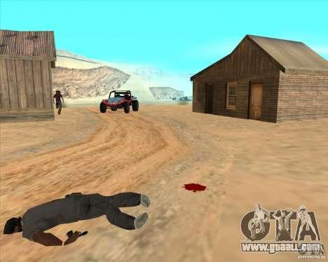 Cowboy duel for GTA San Andreas fifth screenshot