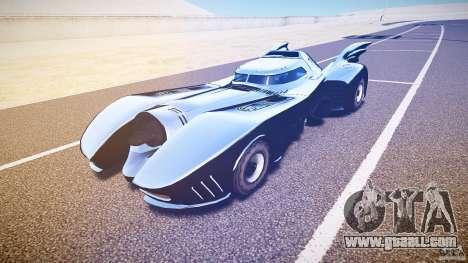 Batmobile v1.0 for GTA 4 left view