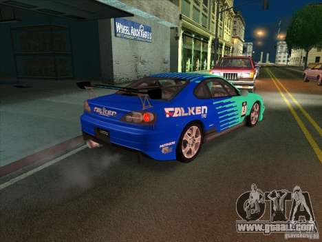 Nissan Silvia S15 Tunable KIT C1 - TOP SECRET for GTA San Andreas side view