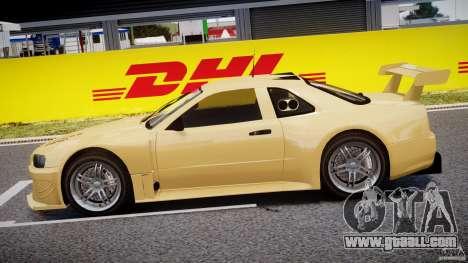 Nissan Skyline R34 v1.0 for GTA 4 left view