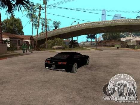 Chevrolet Camaro Concept for GTA San Andreas back left view