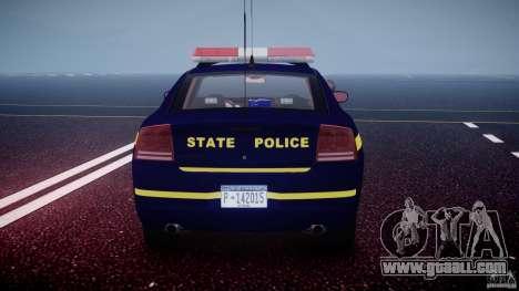 Dodge Charger New York State Trooper CHGR-V2.1M for GTA 4 engine