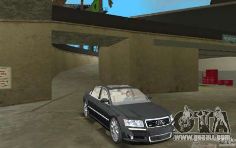 Audi A8 for GTA Vice City inner view