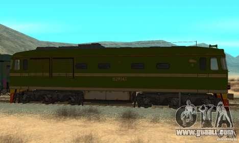 Custom Graffiti Train 2 for GTA San Andreas left view