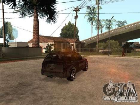 Saab 9-7x for GTA San Andreas back left view