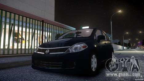 Nissan Versa for GTA 4 back left view