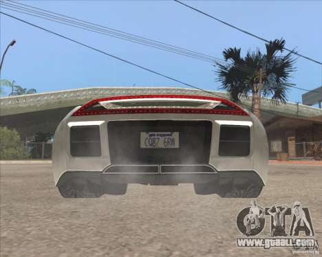 Saleen S5S Raptor for GTA San Andreas back left view