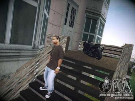 Aprilia RSV4 for GTA San Andreas left view