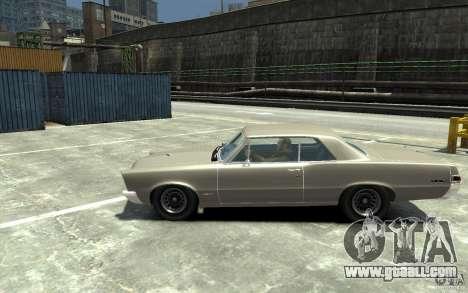 Pontiac GTO v1.1 for GTA 4 left view