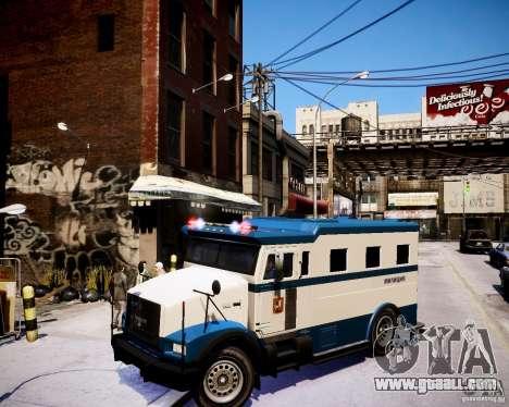 Russian Police Stockade for GTA 4
