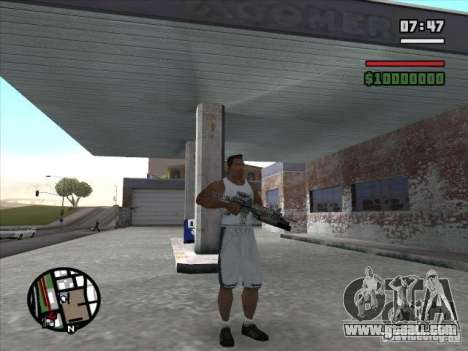 M4 from s. t. a. l. k. e. r. (a) for GTA San Andreas second screenshot